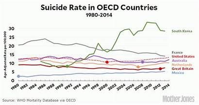 Suicide Rates Rate Oecd Newsmakerslive