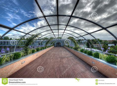Outdoor Corridor Pergola Stock Photo  Image 31741970