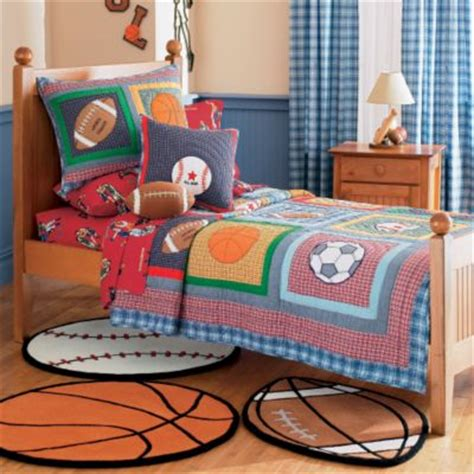 Sports Theme Room  Colorful Kids Rooms