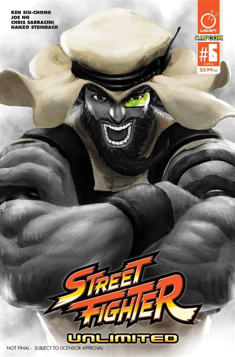 Street Fighter Unlimited 6 20 Copy Sf V Game Cover