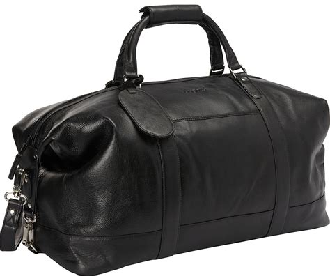 bugatti bogota leather duffle bag