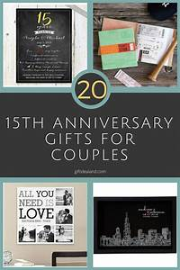 50 good 15th wedding anniversary gift ideas for him her With 15th wedding anniversary gift ideas