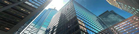 commercial buildings business centre projective