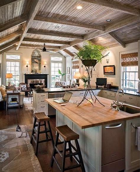 kitchen makeovers pictures rustic kitchen setup set up layout decor decorate 2285
