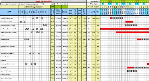 modèle de fiche de procédure administrative programme programmes excel planning plannings