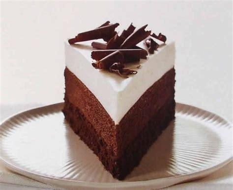 gateau au  chocolat noir  blanc recette de patisserie