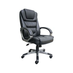 hugo leather no tools required executive chair b8601