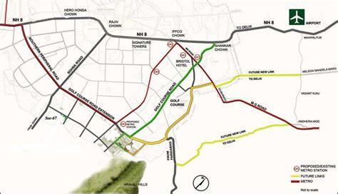 Gurgaon-Map-GolfCourse-GCX-Road - NCRHomes.com - Latest ...