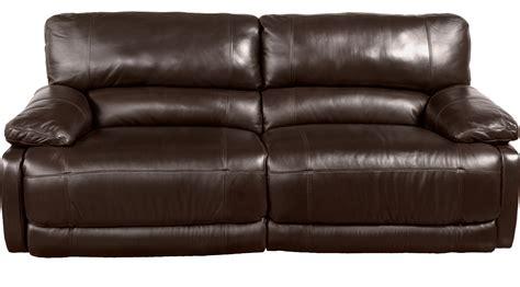 tan leather reclining sofa 1 299 99 auburn hills brown leather power reclining
