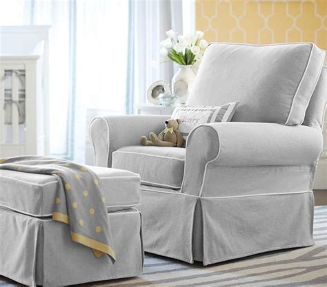 pottery barn glider chairs for the nursery