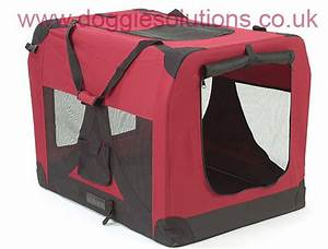 soft dog crates soft fabric folding dog cages doggie solutions With large travel dog cage