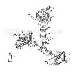 Stihl Fs 250 Brushcutter  Fs250r  Parts Diagram  Crankcase