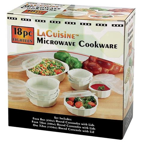 microwave cookware safe dishwasher 18pc lacuisine refrigerator cooking box passive wholesale bowls casserole aggressive hate gifts holiday
