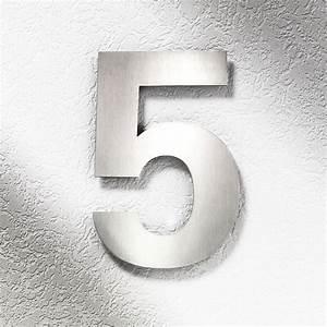 Plaque Numero Maison Design : num ros de maison inox votre num ro de rue en inox bross 25cm creativ 39 sign ~ Melissatoandfro.com Idées de Décoration