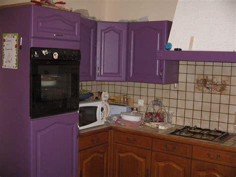 cuisine repeinte en blanc la peinture des meubles de la cuisine le de