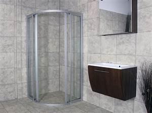 Hüppe Duschabtrennung Montageanleitung : viertelkreis duschkabine 90x90 duschabtrennung runddusche radius 500 esg dusche ebay ~ Orissabook.com Haus und Dekorationen