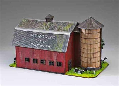 gauge assembled wood dairy barn  menards classic