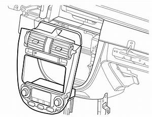 Service Manual  2007 Suzuki Reno Blend Door Removal