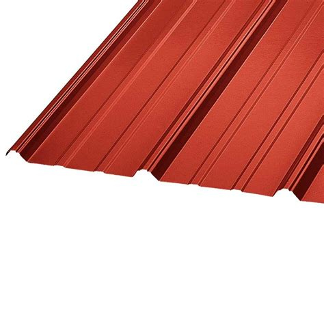 Metal Sales 8 Ft Classic Rib Steel Roof Panel In Charcoal