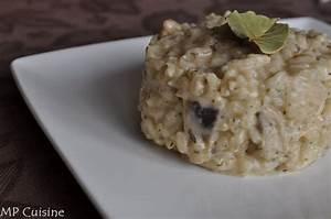 Risotto Vin Blanc : risotto aux champignons parmesan vin blanc mp cuisine ~ Farleysfitness.com Idées de Décoration