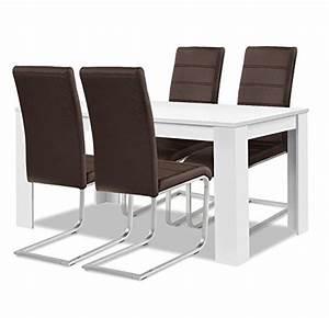 Esstisch Stühle Weiß : esstisch st hle leder weiss neuesten ~ Michelbontemps.com Haus und Dekorationen