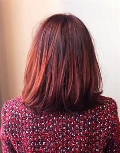 Ombré Hair Rouge : tendance coloration l ombre hair version rouge ~ Melissatoandfro.com Idées de Décoration