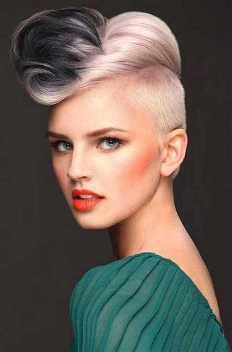 Undercut Hairstyle Female Best Undercut Long Hair For
