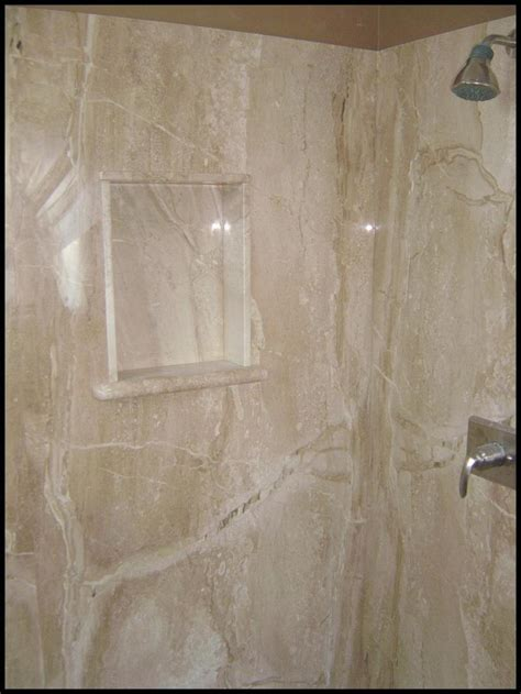 how to become a interior cultured marble shower pan vs tile home ideas collection