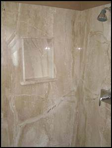Cultured marble shower pan vs tile home ideas collection for Cultured marble floor tiles