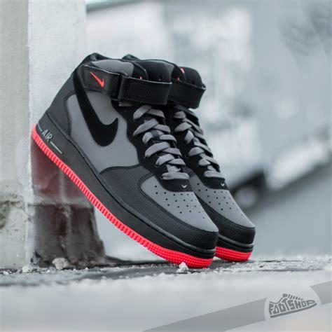 Nike Air Force 1 Mid ´07 Dark Grey Blackbright Crimson