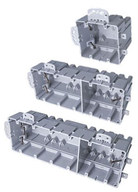 multi mount smartboxes      gang  work  work boxes   voltage divider