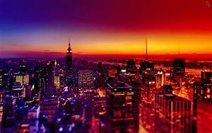 Night City Wallpapers Mobile | Landscape Wallpapers ...