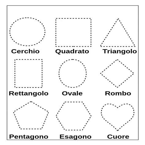 figure geometriche solide da ritagliare cubo da ritagliare