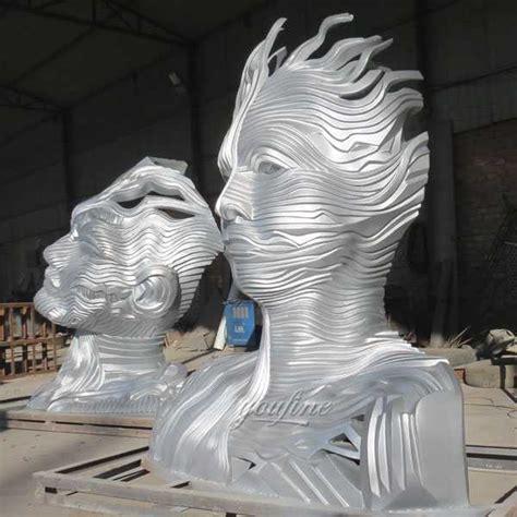 buy large abstract metal art sculpture outdoor garden