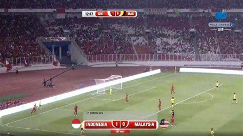 hasil indonesia  malaysia