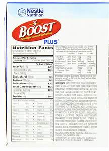 Boost Plus Rich Chocolate Complete Nutritional Drink  8 Fl Oz  12 Count