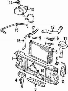 Radiator  U0026 Components For 1993 Chevrolet C1500