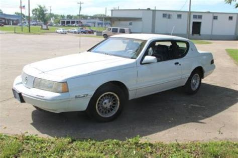 Sell Used 1988 Mercury Cougar Xr7