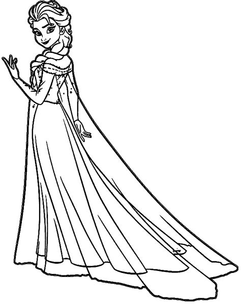 elsa coloring pages elsa coloring pages coloring home