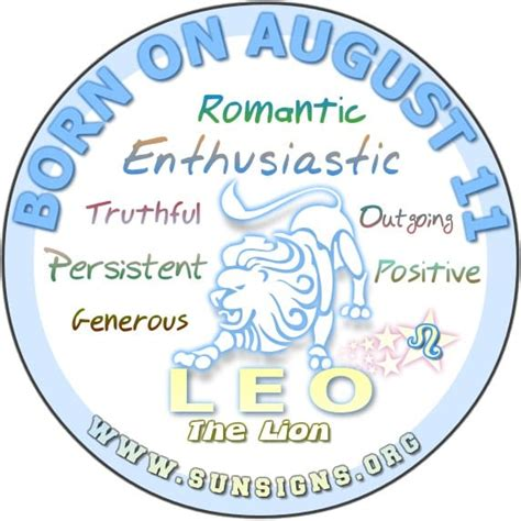 August 11 Zodiac Horoscope Birthday Personality  Sunsignsorg. Fracture Signs. Childrens Signs Of Stroke. Running Nose Signs. Pouch Signs. Shade Signs. Aircraft Signs Of Stroke. Word Chinese Signs Of Stroke. Means Depression Signs