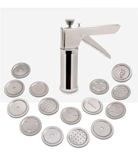 Uttam Kitchen Press Namkeen Maker With 15 Design Jalli