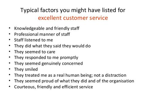 What Does Great Customer Service To Me by Delivering And Improving Effective Customer Service
