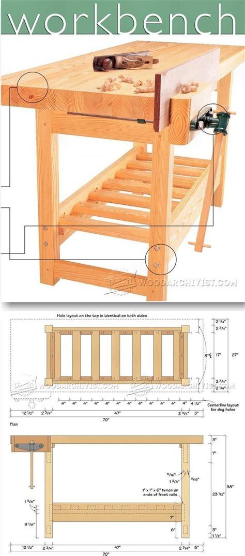 Wood Whisperer Workbench Plans
