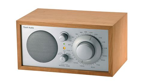 Model One Radio - Speaker compatible with iPod Silver