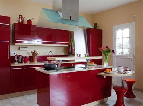 cuisine à l américaine cuisine ouverte avec bar cuisine design bleu gris et inox