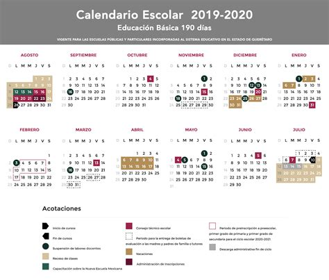 calendarios usebeq