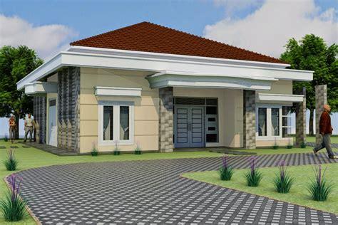 gambar desain rumah terbaik  rumah minimalis