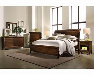 napa sleigh storage bedroom set in cherry aspen furniture With aspen home furniture bedroom sets
