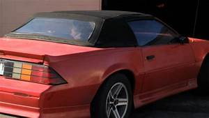 1991 Chevy Camaro Z28 Convertible Fast