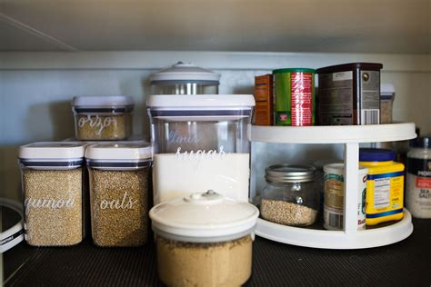 kitchen storage labels 9 ways you can make your pantry more organized 3160